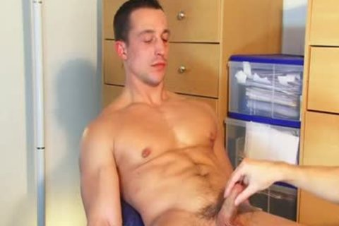 Full clip (25mns): A straight Soccer Player gets Wanked His throbbing ramrod By A guy
